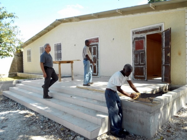 Construction of CTSP headquarters