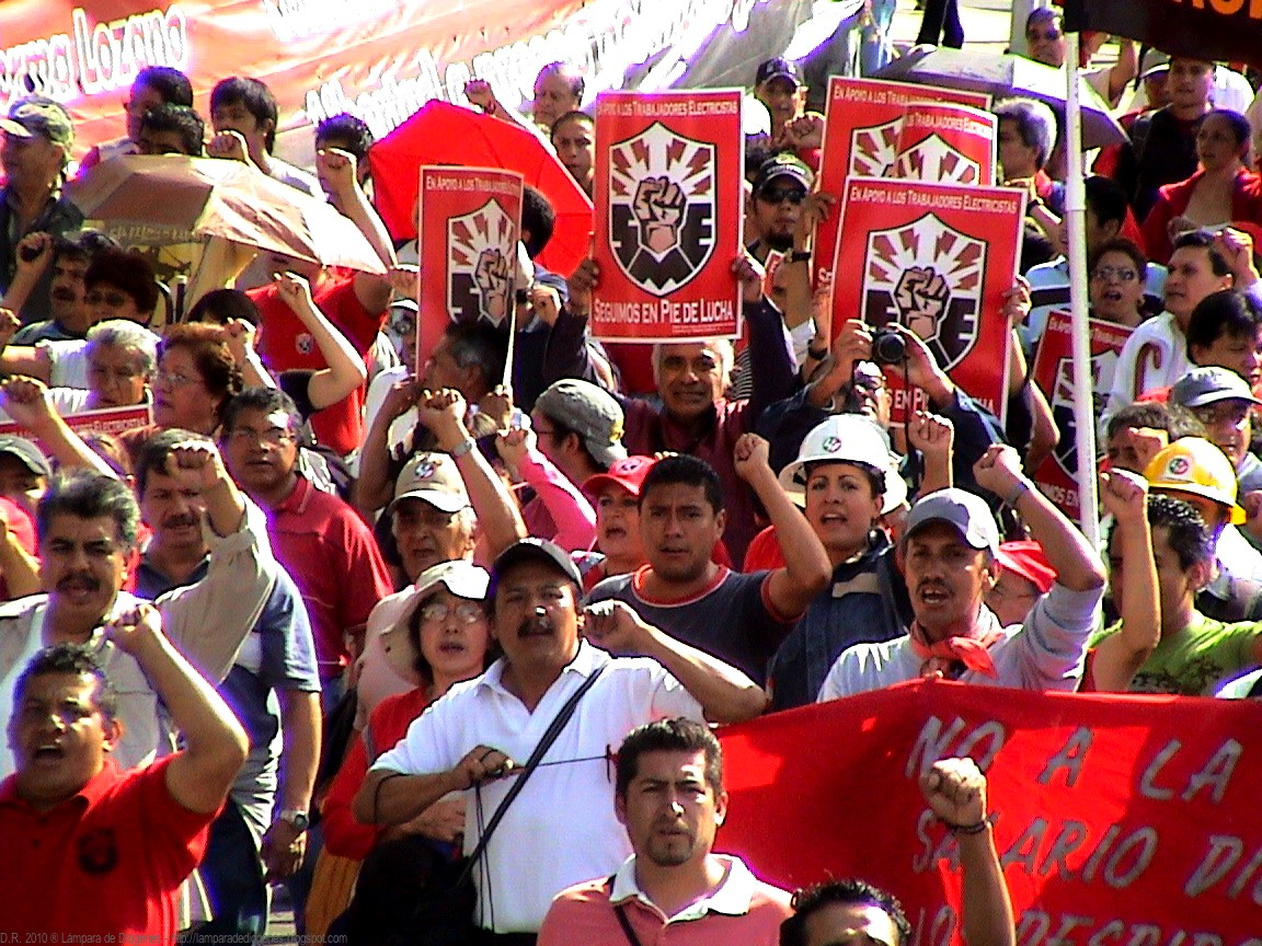 Mexican Electrical Workers Union in permanent struggle
