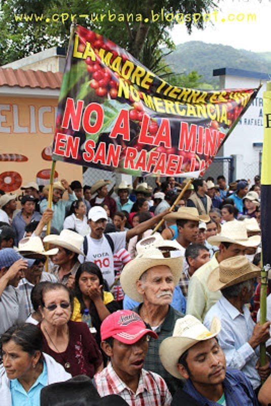 Community Las Flores says No to mining